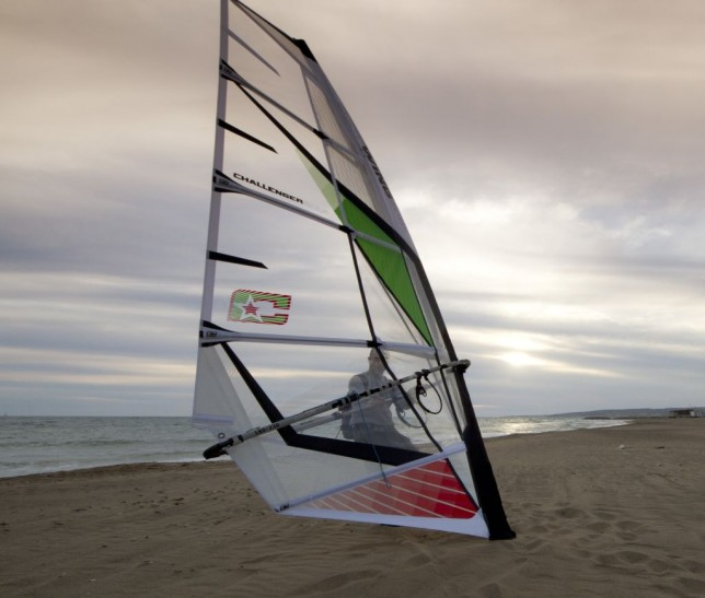 The soft wing sail for windsurf has arrived