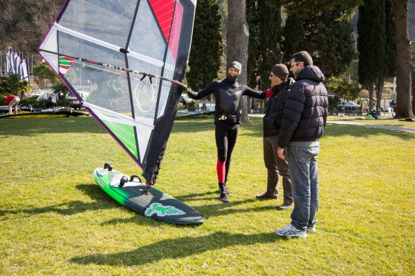 Trial of Soft Wing Sail for Freestyle/Wave