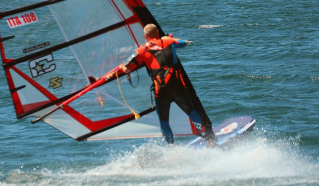 Fly with Marco ITA108 on a Soft Wing Sails