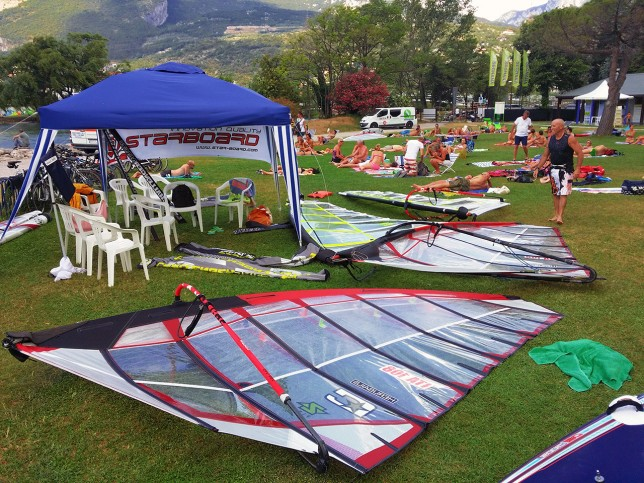 Test and presentation days of Challenger Sails GT2WING – Lake of Garda